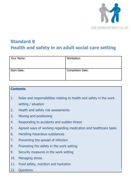 health and social care roles and responsibilities