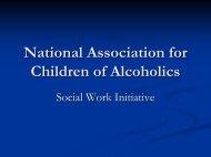 Family Disease Model - NACoA