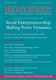 Social Entrepreneurship: Shifting Power Dynamics - PBS