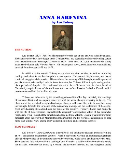 Ebook Anna Karenina Bahasa Indonesia