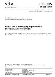 EN 206-1:2000 Beton - Teil 1: Festlegung ... - Kieswerk Aadorf AG