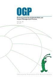 Environmental-Social-Health Risk and Impact Management Process