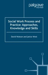 Social Work Process and Practice: Approaches ... - Bocahbancar