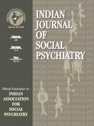 IJSP-2010(3-4) - Indian Association For Social Psychiatry