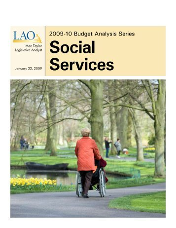 Social Services - California Legislative Analyst's Office