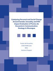Catalyzing individual and social change around gender, sexuality ...