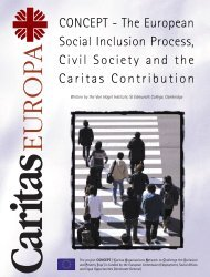 The European Social Inclusion Process - Caritas-Europa