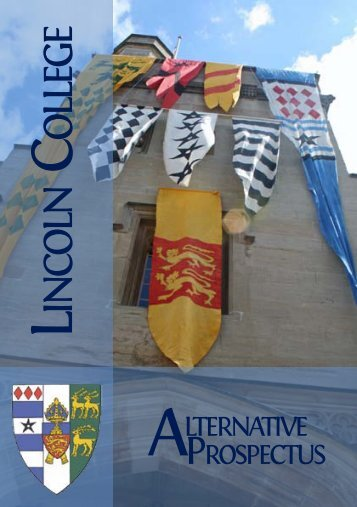Lincoln College Alternative Prospectus