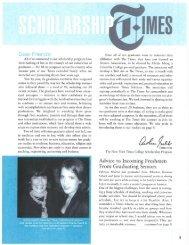 2003 ScholarTimes - New York Times Company