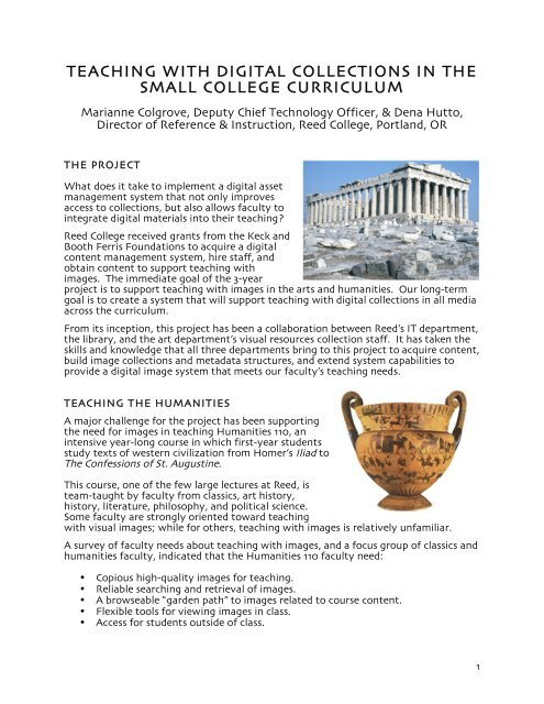 handout (pdf) - Reed College
