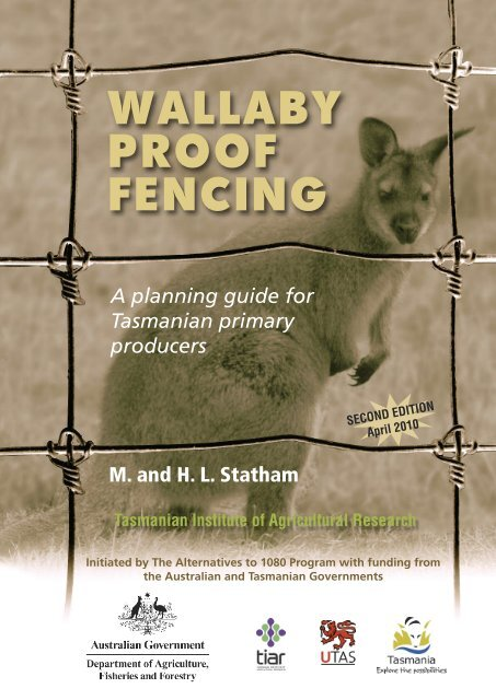 Wallaby Proof Fencing Department Of Primary Industries Water And