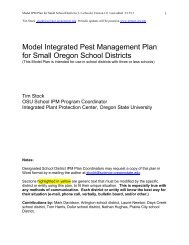 Model IPM Plan for Small School Districts - Integrated Plant ...