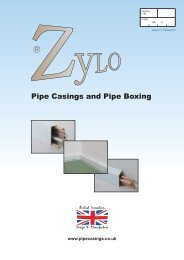 Pipe Boxing and Casing Literature Version 11.1 - Zylo Pipe Boxing