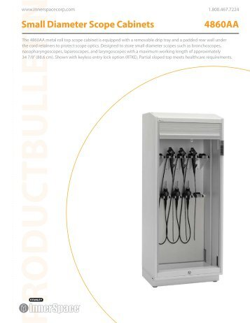 Small Diameter Scope Cabinet   Stanley InnerSpace