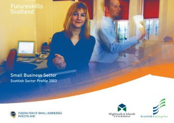 FSB Sector Skills Report 2003 - Federation of Small Businesses