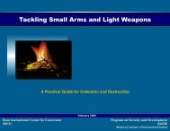 Tackling Small Arms and Light Weapons - Blogs @ MIIS - Monterey ...