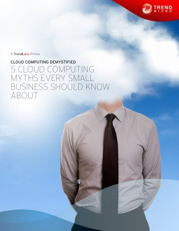 5 Cloud Computing Myths Every Small Business Should Know About