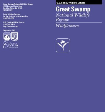 Download the wildflower brochure - U.S. Fish and Wildlife Service
