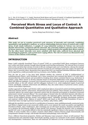 Stress: Research and Practice in Human ... - web.ba.ntu.edu.tw