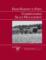 From Harvest to Feed: Understanding Silage Management - Extension