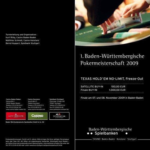 Spielbanken Baden Wurttemberg