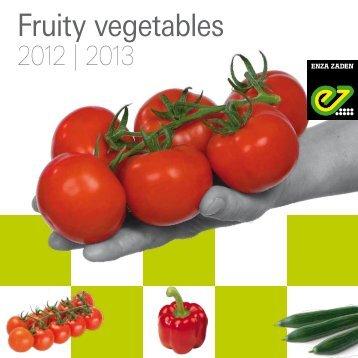 Fruity vegetables - Enza Zaden