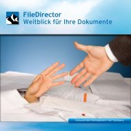 Weitblick für Ihre Dokumente - ScanFile Document Management