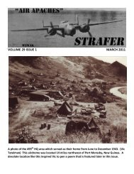 March 2011 Strafer - 345th Bomb Group Association