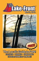 Events Continued - The Lake-Front Magazine