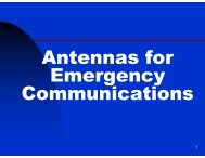 Emergency Antennas