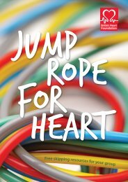 Jump Rope For Heart - BHF National Centre - physical activity + health