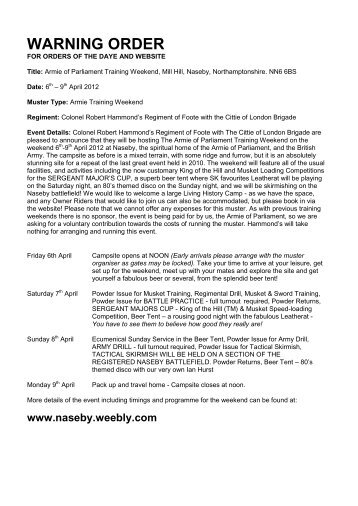 Navy SEAL BUD:S Warning Order - WordPress.com