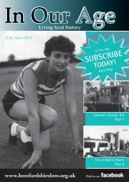 Issue 22: Autumn 2011 - Herefordshire Lore