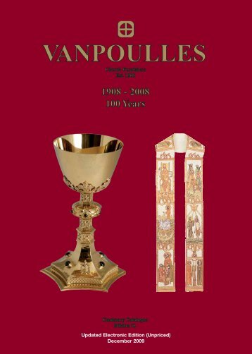 Updated Electronic Edition (Unpriced) - Vanpoulles Church Furnishers