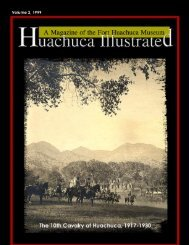 Buffalo Soldiers at Huachuca, Part II - Fort Huachuca - U.S. Army