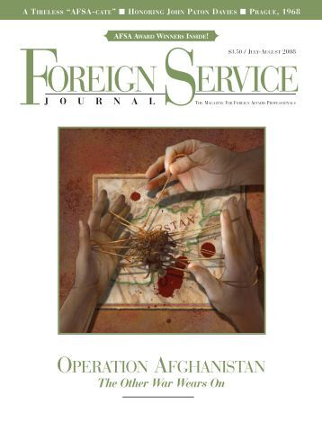 What exactly does the American Foreign Service do?