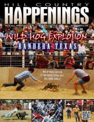 March 2012 - Hill Country Happenings