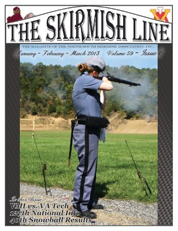 Download the latest copy of The Skirmish Line - 13th Confederate ...