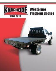 Westerner Platform Bodies Literature - Knapheide