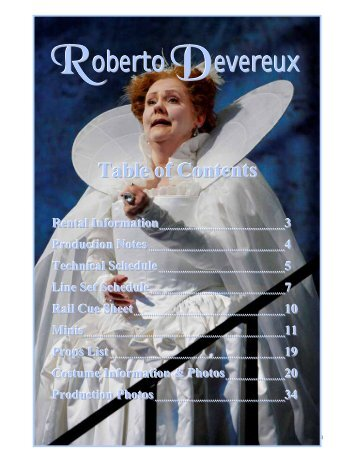 Roberto Devereux - Minnesota Opera