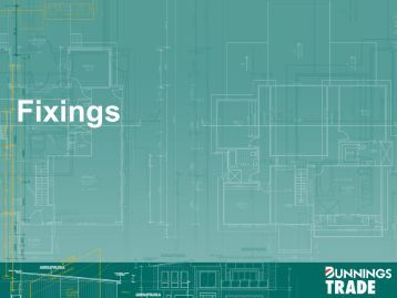 Fixings - Whole of House - Bunnings