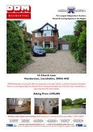 53 Church Lane Humberston, Lincolnshire, DN36 ... - Expert Agent