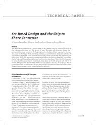 Set-Based Design and the Ship to Shore Connector ... - ASNE