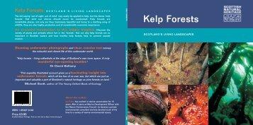 Kelp Forests - Scottish Natural Heritage