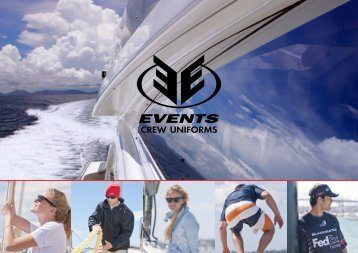 Click here to download our catalogue - 4.1MB - Events Clothing Co