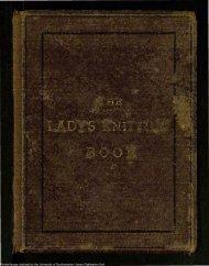 lady's knitting book. - University of Southampton