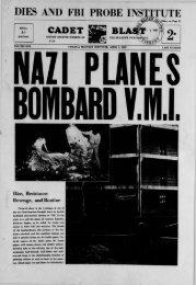 The Cadet. VMI Newspaper. April 01, 1940 - New Page 1 [www2.vmi ...