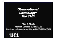 Observational Cosmology: The CMB