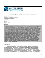 SR-12-05 Functional approach to riparian restoration - City of Austin