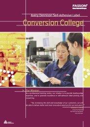 Conversion College - Fasson